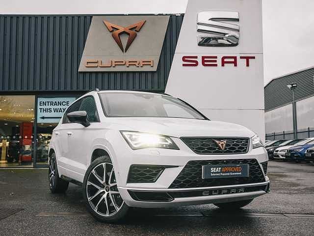 SEAT Cupra Ateca Comfort and Sound 2.0 TSI (300ps) 4Drive DSG COMFORT AND SOUND