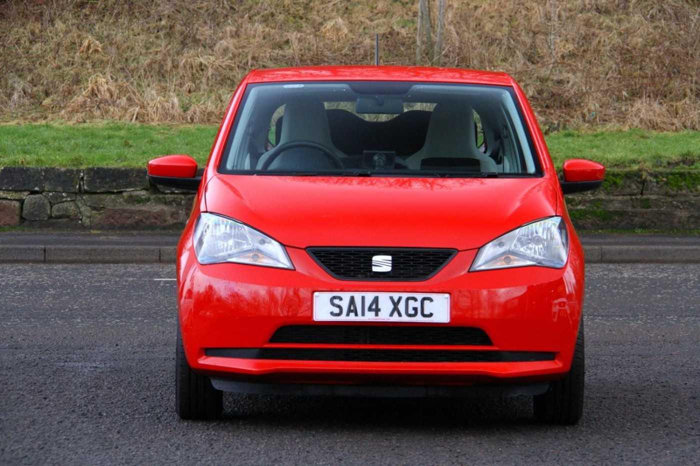 Find A Used Red Seat Mii 1 0 12v 60ps Toca Hatchback 3