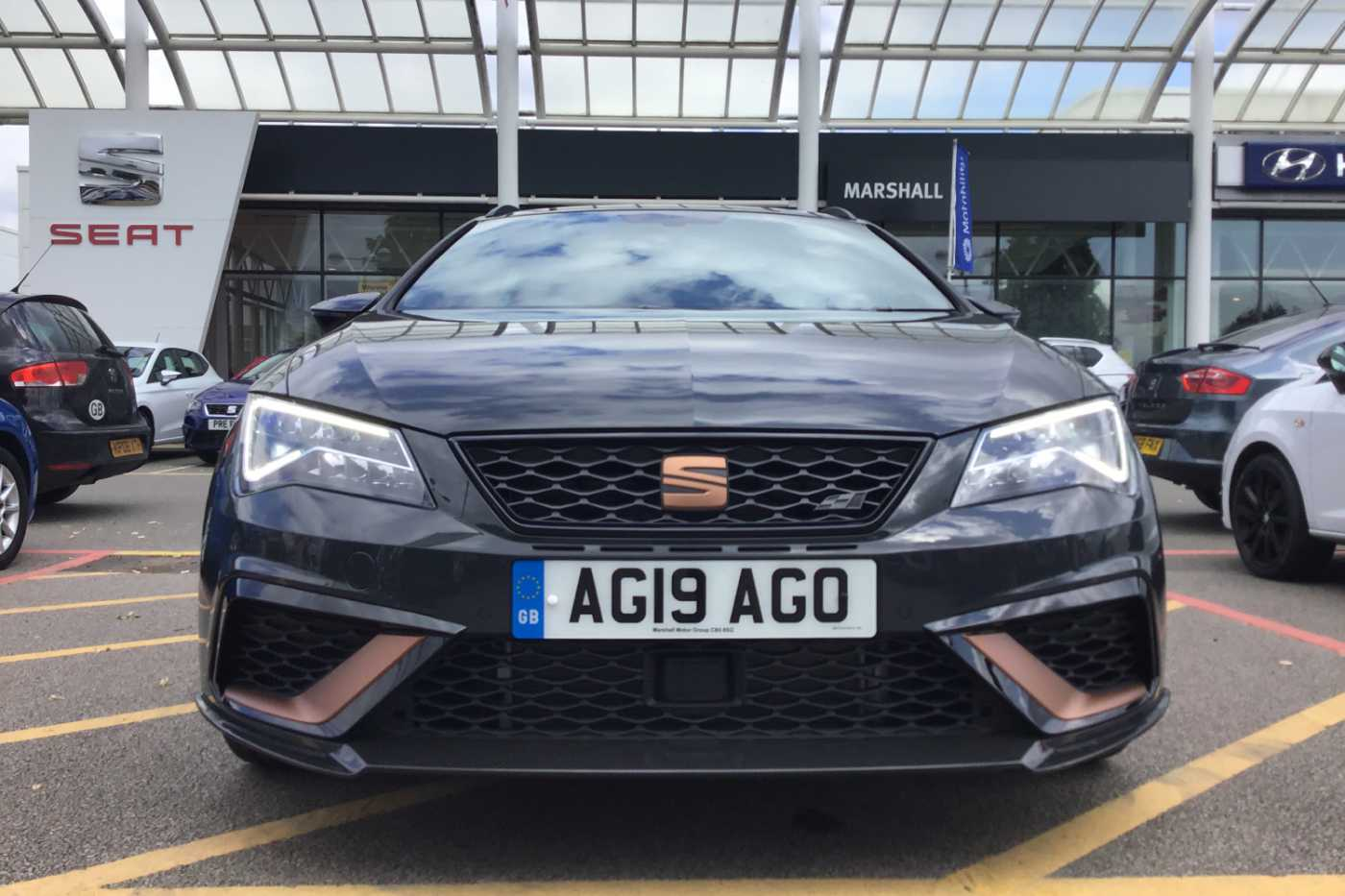 Newmarket Drive Test Centre >> Find A Used Grey SEAT Leon Sport Tourer Special Editions 2 ...