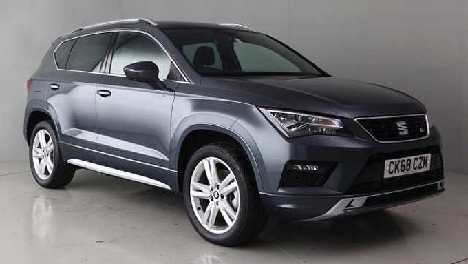 find a used orange seat ateca suv 2.0 tsi (190ps) fr 4drive 5-door