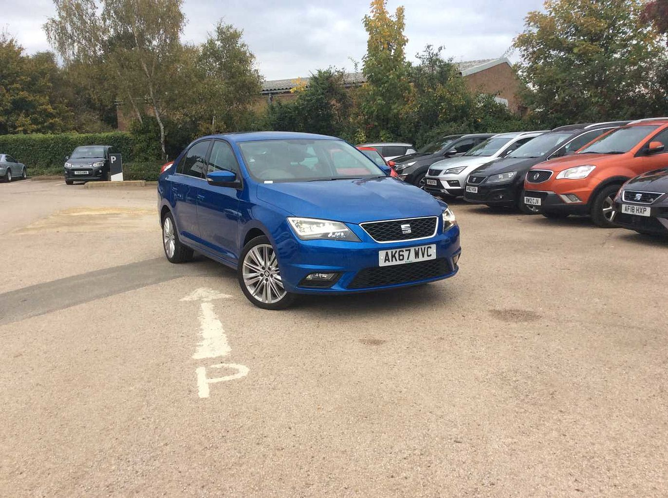 Find A Used Blue Seat Toledo 1 0 Tsi Xcellence 110ps 5 Door