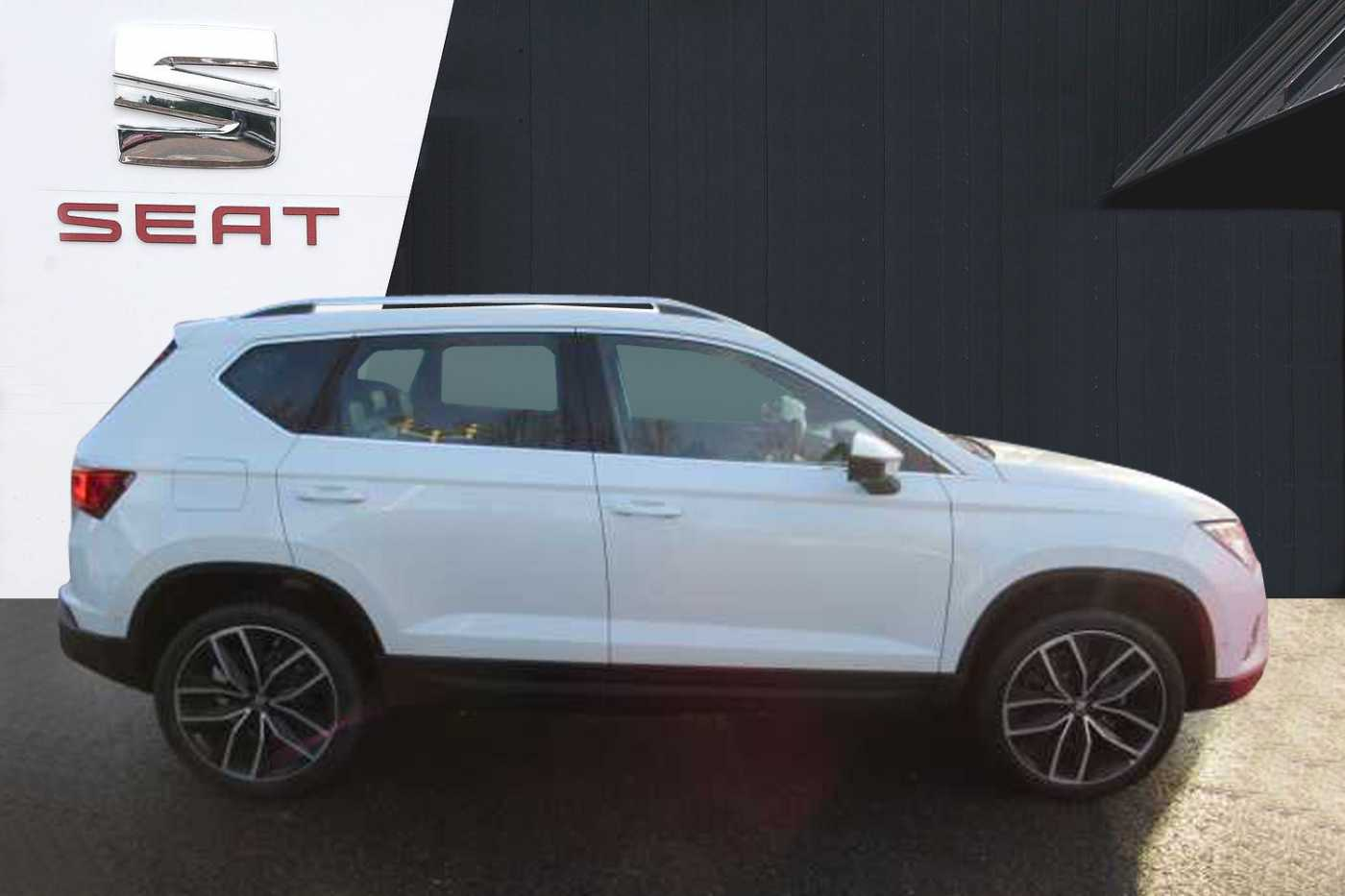find a used white seat ateca ateca xcellence lux 1 5 tsi 150 dsg 5 door in basingstoke seat uk